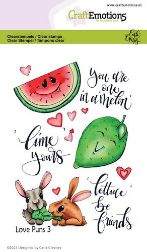 CraftEmotions clearstamps A6 – Love Puns 3 Carla Creaties
