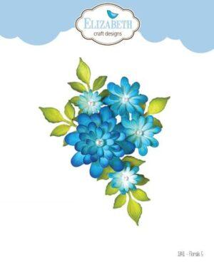 Elizabeth Craft Design – Florals 5 nr 1841