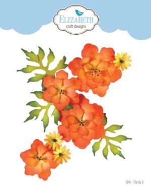 Elizabeth Craft Design – Florals 8 nr 1844
