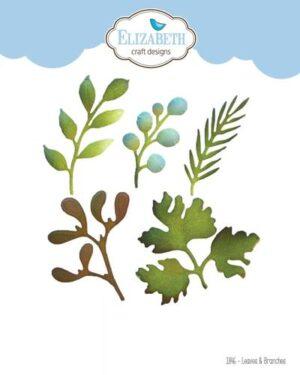 Elizabeth Craft Design – Leaves & Branches nr 1846