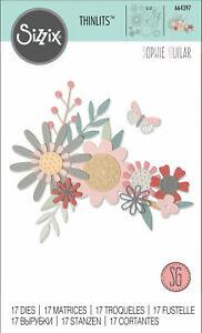Sizzix Thinlits Die Set – Bold Flora 664397