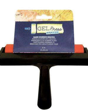 Gel Press • Hard rubber brayer 15,24cm