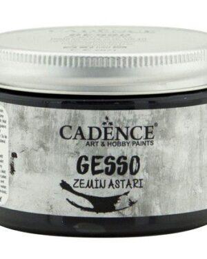 Cadence gesso acrylverf zwart 01 064 0002 0150 150ml