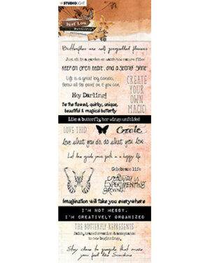 CBJL07 – JL Chipboard Butterfly Collection nr.07