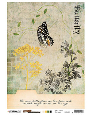 RICEJL21 – JL Rice Paper Butterfly Collection nr.21