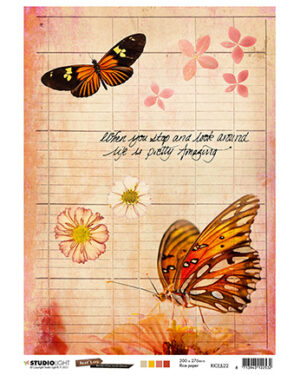 RICEJL22 – JL Rice Paper Butterfly Collection nr.22