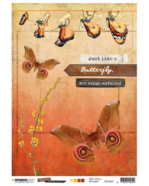RICEJL23 – JL Rice Paper Butterfly Collection nr.23