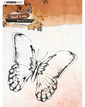 STAMPJL14 – JL Clear Stamp Butterfly Collection nr.14
