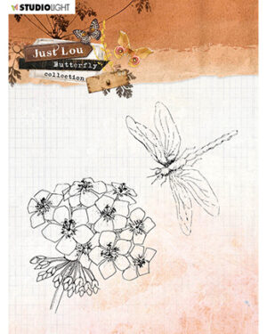 STAMPJL15 – JL Clear Stamp Butterfly Collection nr.15