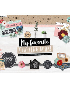 STANSBLOKSL101 – SL MF Crafting Book In Love With Chalk nr.97