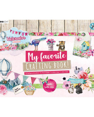 STANSBLOKSL102 – SL MF Crafting Book Watercolor Stories nr.98