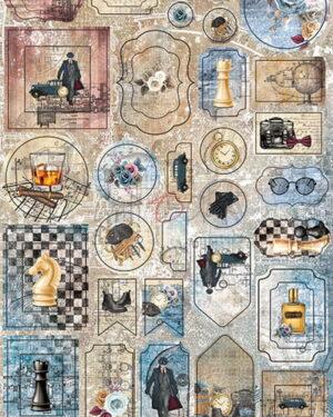 Craft O' Clock – Age of Gentleman – Cardboard Die Cuts
