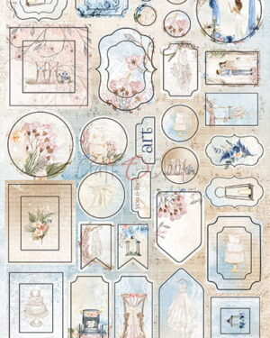 Craft O' Clock – Wedding Dream – Cardboard Die Cuts