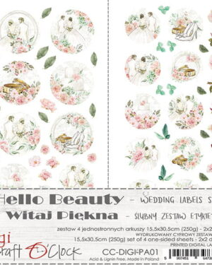 Craft O' Clock – Hello Beauty – Label Set
