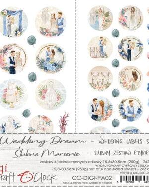 Craft O' Clock – Wedding Dream – Label Set