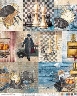 Craft o Clock – Age of Gentleman – Decorative Cards