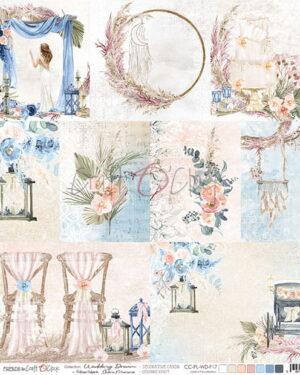 Craft o Clock – Wedding Dream – Decorative Cards