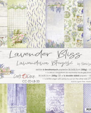 LAVENDER BLISS – A SET OF PAPERS 30,5X30,5CM