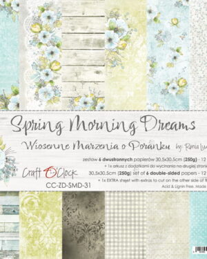 Craft O' Clock – Spring Morning Dream – Paperpad 20.3 x 20.3 cm