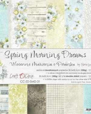 Craft O' Clock – Spring Morning Dreams – Paperpad 30.5 x 30.5 cm