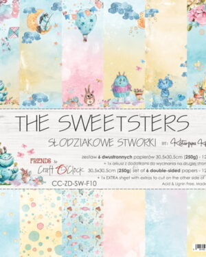 Craft O' Clock – The Sweetsters – Paperpad 30.5 x 30.5 cm