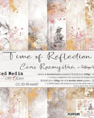 TIME OF REFLECTION – A SET OF PAPERS 30,5X30,5CM