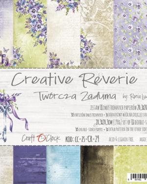 Craft O' Clock – Creative Reverie – Paperpad 20.3 x 20.3 cm