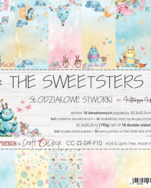 Craft O' Clock – The Sweetsters – Paperpad 20.3 x 20.3 cm