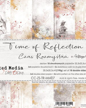 TIME OF REFLECTION – A SET OF PAPERS 20,3X20,3CM