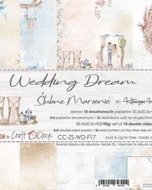 Craft O' Clock – Wedding Deam – Paperpad 20.3 x 20.3 cm