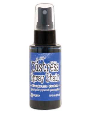 Ranger • Distress spray stain Blueprint sketch
