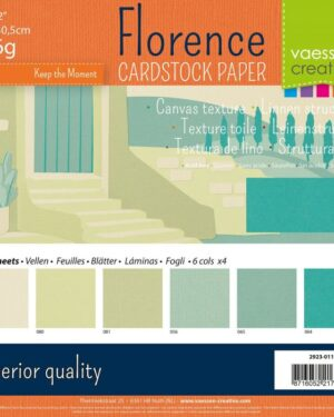 Florence • Cardstock multipack 30,5×30,5cm Strand tinten