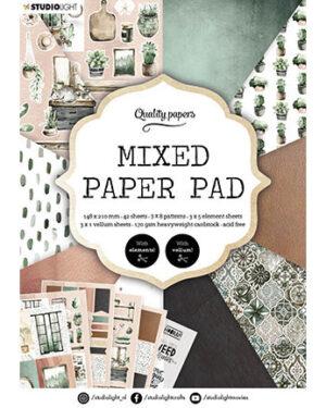 SL Mixed Paper Pad Pattern paper Essentials 148x210mm nr.157