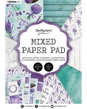 SL Mixed Paper Pad Pattern paper Essentials 148x210mm nr.158