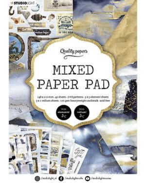 SL Mixed Paper Pad Pattern paper Essentials 148x210mm nr.159