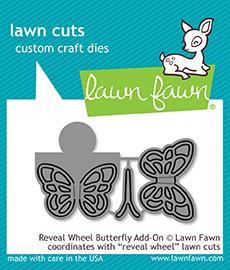 Lawn Fawn Reveal Wheel Butterfly Add-on Dies (LF1910)