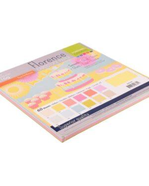 Florence • Cardstock smooth 30,5×30,5cm 12×5 Pastel
