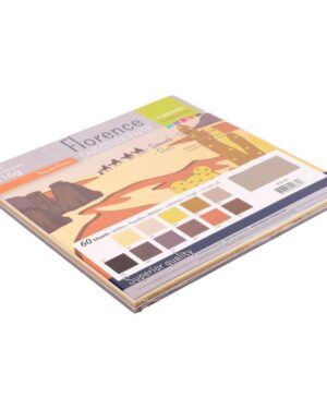 Florence • Cardstock smooth 30,5×30,5cm 12×5 Earth tones