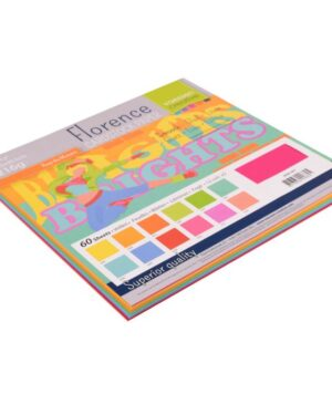 Florence • Cardstock smooth 30,5×30,5cm 12×5 Brights