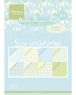 Papier blok Springtime