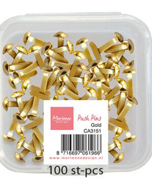 Push Pins – Gold