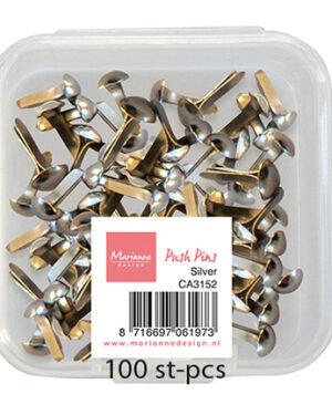 Push Pins – Silver