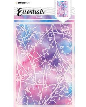SL Mask Background blossom/branches Essentials 148x210mm nr.28