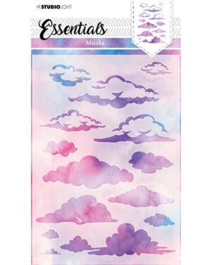 SL Mask Background clouds Essentials 148x210mm nr.29