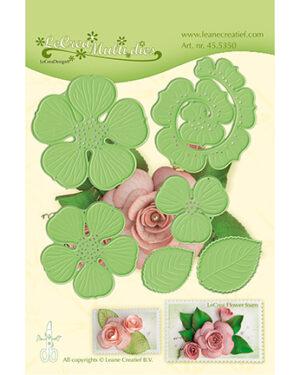 455350 – Leane Creatief Rose 3D 016