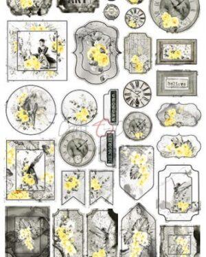 Craft O' Clock – Force of Gentleness – Cardboard Die Cuts