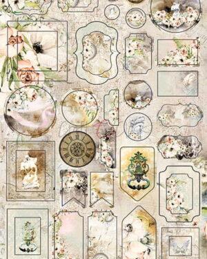 Craft O' Clock – Blooming Retreat – Cardboard Die Cuts