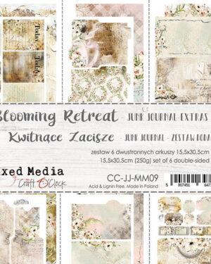 Craft O' Clock – Blooming Retreat – Junk Journal Set