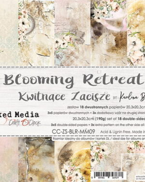 Craft O' Clock – Blooming Retreat – Paperpad 20.3 x 20.3 cm