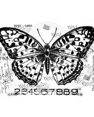 FRM001 Creative Expressions • Woodware clear singles Butterfly